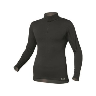 LS Shirt PRO mit kurzem Zipper