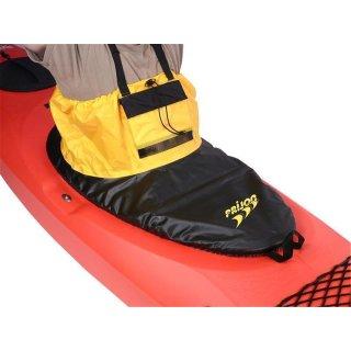 Prijon Spritzdecke Schwarz-gelb mit Tasche