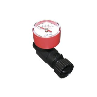 Advanced Elements Inline Valve Adapter W/ Pressure Gauge