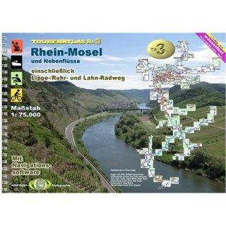 TourenAtlas TA3 Rhein-Mosel