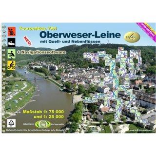 TourenAtlas TA4 Oberweser-Leine