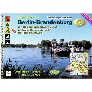 TourenAtlas TA5 Berlin-Brandenburg